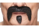 Mustaches with beards (pack of 6 pcs.)